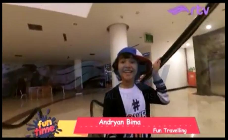 Fun Travelling Fun Time RTV - Didi jalan jalan ke Alive Museum Ancol