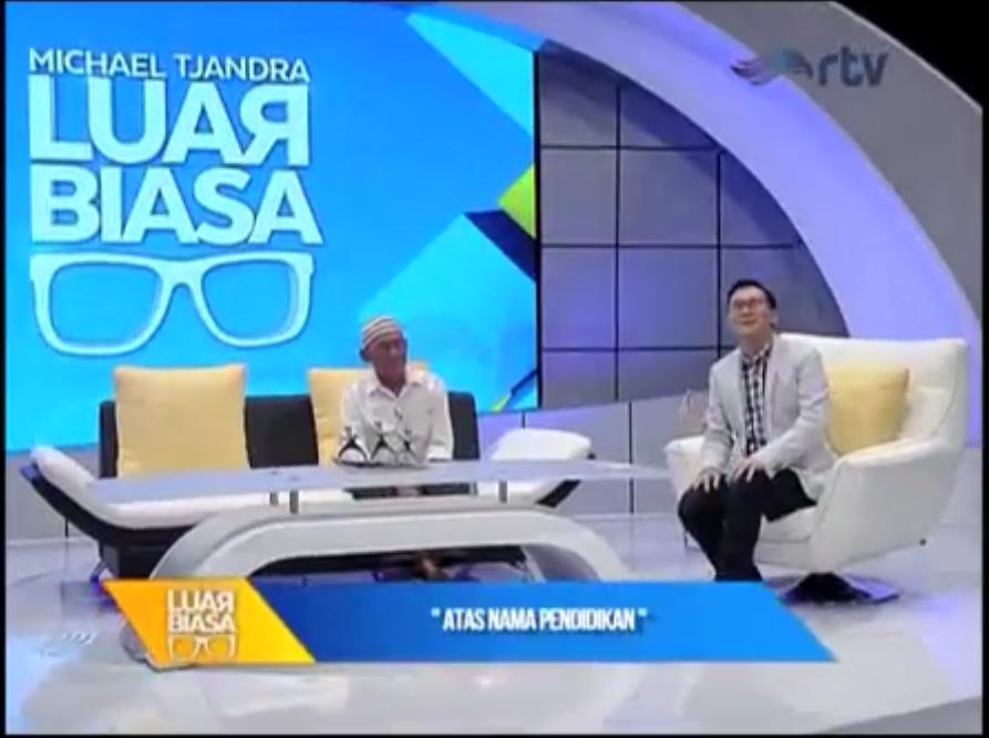 MICHAEL TJANDRA LUAR BIASA - Atas Nama Pendidikan [segmen 4] RTV