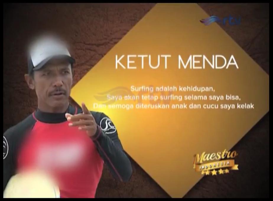 Maestro Indonesia Episode Ketut Menda Part 4
