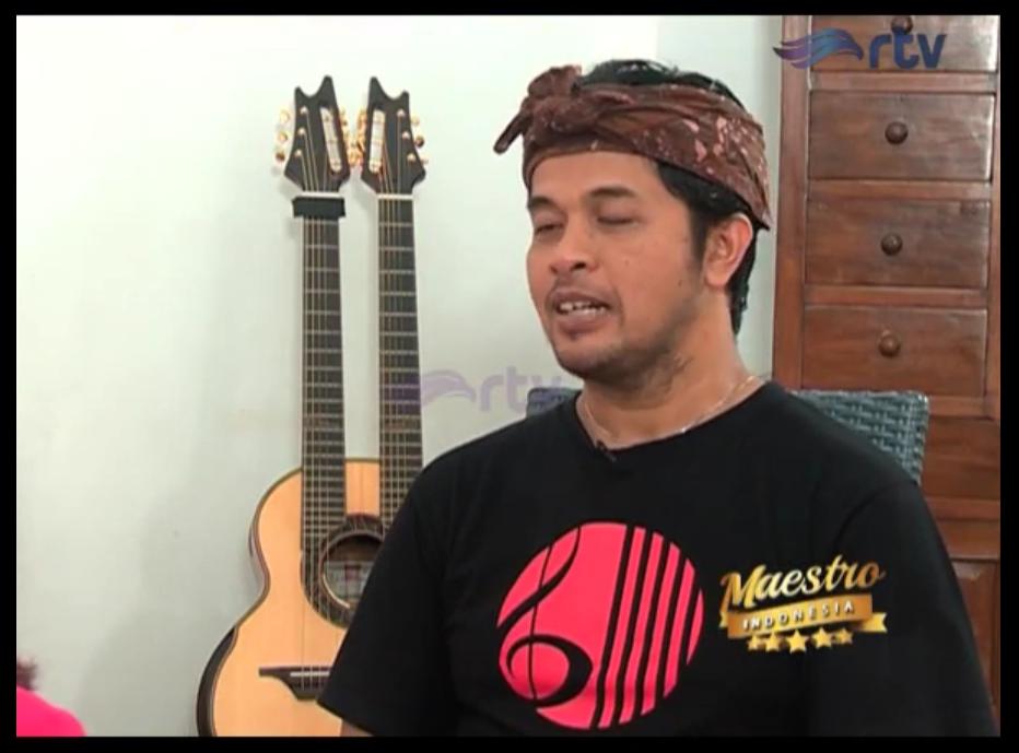 Maestro Indonesia RTV - Episode I Wayan Balawan Part 2